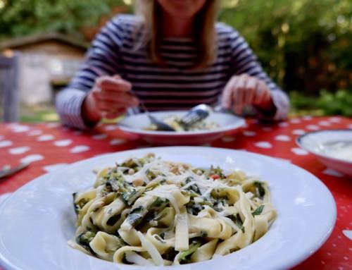 Recept met vergeten groente: Postelein